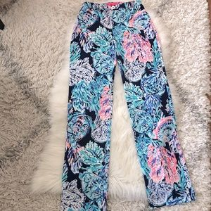 Lilly Pulitzer Malorie High Rise Pants size 00